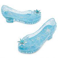 Туфельки Эльзы с мигающими каблуками