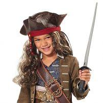 Шляпа Джека Воробья с париком (Пираты Карибского моря)