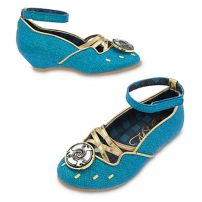 Туфельки к платью Мериды